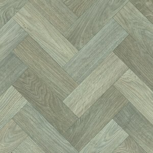 Vinyl Wood & Concrete light beige & grey chevrons 1026