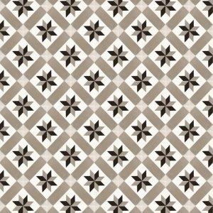Mosaic beige cement